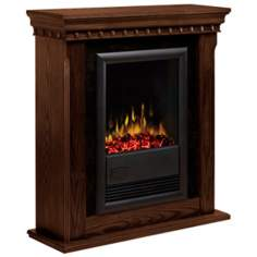 Dimplex Bravado II Nutmeg Electric Fireplace
