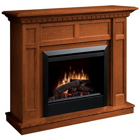 Dimplex Caprice Warm Oak Electric Fireplace