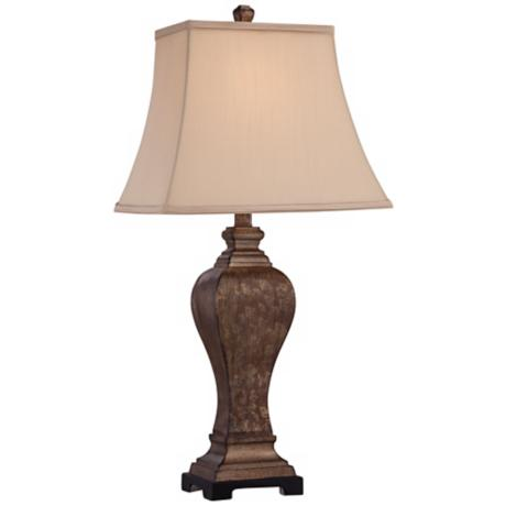 Edgar Bronze Transitional Table Lamp