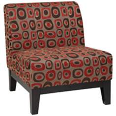 Ave Six® Glen Twilight Red Chair