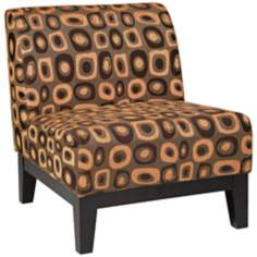 Ave Six® Glen Twilight Rust Accent Chair