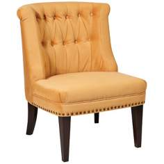 Ave Six® Ventana Butternut  Accent Chair