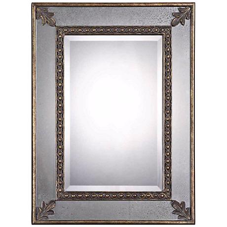 "Uttermost Michelina Antiqued 30""x40"" Wall Mirror"