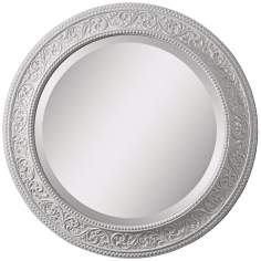 "Uttermost Palena Round 26"" Decorative Wall Mirror"