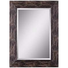 "Uttermost Reptilia 38"" High Rectangular Wall Mirror"