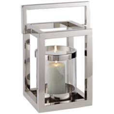 Amalfitana Light House Pillar Candle Lantern