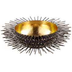 Rojo 16 Iron Studded Porcupine Bowl