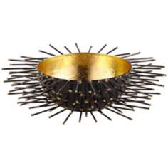 Rojo 16 Iron Studded Medium Porcupine Bowl