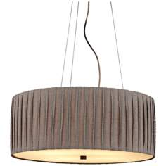 "LBL Cato 4-Light 20"" Wide Suspension Pendant Light"