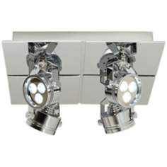 LED Four Light Adjustable Pro Track®  Light