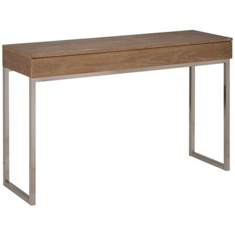 Frameo Driftwood Console Table