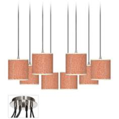 Stacy Garcia Seafan Coral 8-Light Swag Fixture