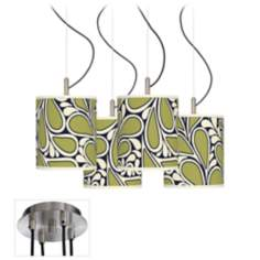 Stacy Garcia Rain Metal 4-Light Swag Chandelier