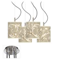 Laurel Court Luxe 4-Light Swag Chandelier