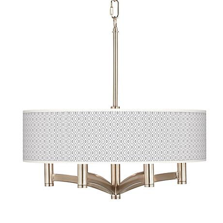 Diamonds Ava 6-Light Nickel Pendant Chandelier