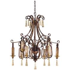 Metropolitan Vineyard Haven 9-Light 38 1/2 W Chandelier