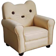 Kitty Kat Yellow Kids Chair