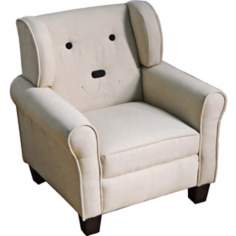 Dougie Dog Beige Kids Chair