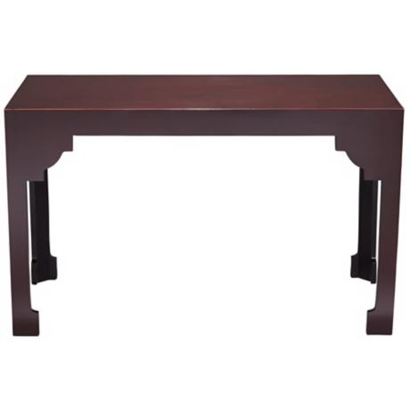 Dahlia Collection Brown Wood Sofa Table