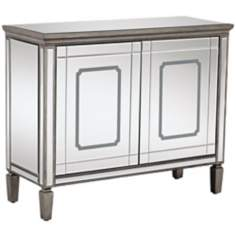 Mya 2-Door Mirrored Cabinet