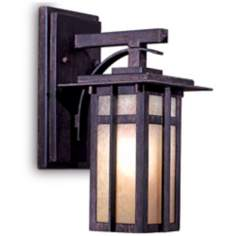 "Delancy 12 1/4"" High Outdoor Wall Lantern"