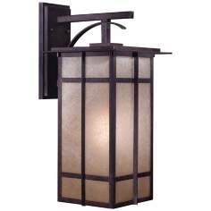 "Delancy 21 1/2"" High Iron Oxide Outdoor Lantern"