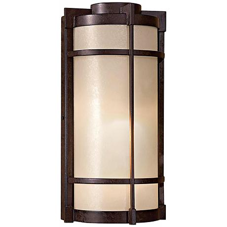 "Mirador 14 3/4"" High Bronze Outdoor Wall Light"