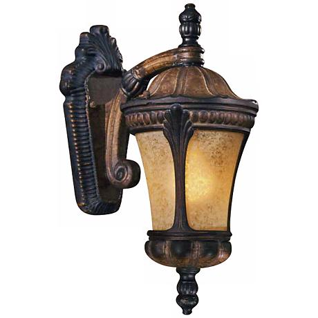 Charleston Coach Polished Brass Motion Sensor Outdoor