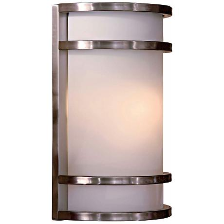 "Bay View Stainless 12"" Outdoor Wall Light"
