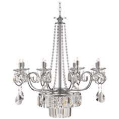 "Vienna Full Spectrum Kylie 27"" Wide Crystal Chandelier"