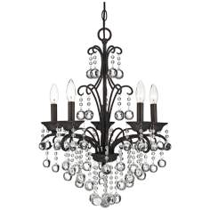 "Quoizel Carrabelle 5-Light 18"" Wide Mini Chandelier"
