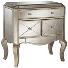 Camellia 3-Drawer Mirror Cabinet