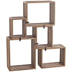 Arteriors Home Stockard Oak Modular Shelves