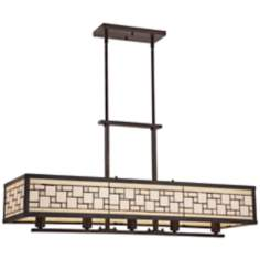 "Quoizel Specter 5-Light 38"" Wide Island Chandelier"
