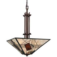 "Quoizel Russell 4-Light 20"" Wide Pendant Light"