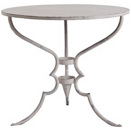 Arteriors Home Toulouse Painted Iron Side Table