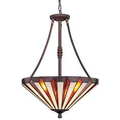"Quoizel Marquis 3-Light 18"" Wide Pendant Light"