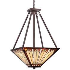 "Quoizel Tanner 3-Light 16"" Wide Pendant Light"