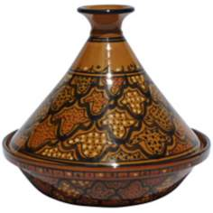 Le Souk Ceramique Honey Design Serving Tagine