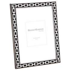 "Reed and Barton Silver Link 5x7"" Midnight Black Frame"