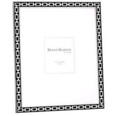 "Reed and Barton Silver Link 8x10"" Midnight Black Frame"
