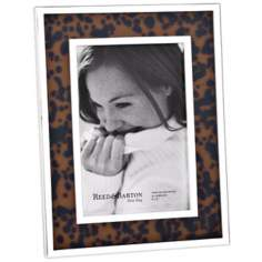 "Reed and Barton Tortoise 4x6"" Contemporary Picture Frame"