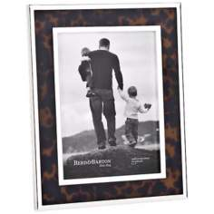 "Reed and Barton Tortoise 5x7"" Contemporary Picture Frame"