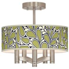 Stacy Garcia Rain Metal Ava 5-Light Nickel Ceiling Light