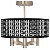 Matrix Ava 5-Light Nickel Ceiling Light