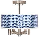 Arabella Ava 5-Light Nickel Ceiling Light