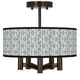 Indigenous Ava 5-Light Bronze Ceiling Light