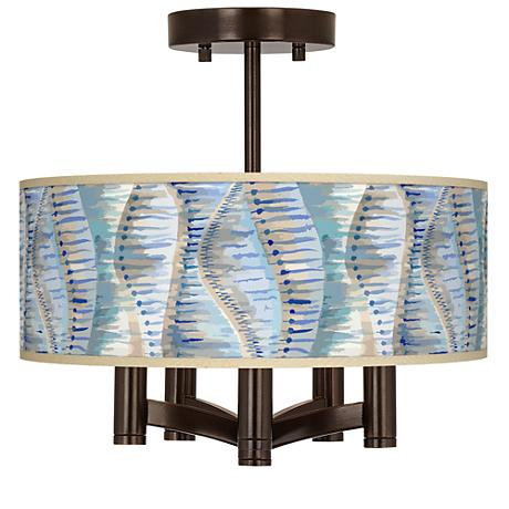 Siren Ava 5-Light Bronze Ceiling Light