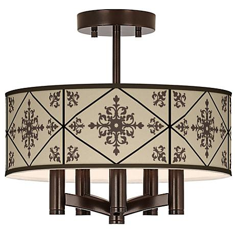 Chambly Ava 5-Light Bronze Ceiling Light