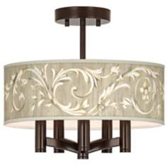 Laurel Court Ava 5-Light Bronze Ceiling Light